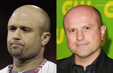 Placido Polanco and Enrico Colantoni